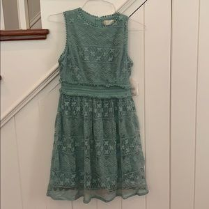 Alter'd State Dusty Sage Blue Dress Small New